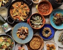 With 4 kinds of wine pairing! Enjoy Spanish dishes from small plates to very satisfying main dishes and desserts! Chef recommended course that you can enjoy more