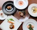 【ディナー】7600円 生産者応援!特別ディナーコース「メイン料理を選べる季節のディナーコース全6品」~フリードリンク付~