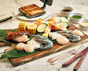 [Advance payment] Seafood & vegetable grill plate