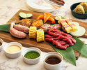 [Advance payment] Meat & vegetable grill plate