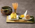【土日祝日限定】和スイーツセット~和菓子+抹茶~