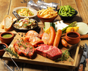 [Weekday limited short stay until 5/11] Casual BBQ course + standard all-you-can-drink (1.5h)