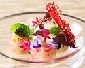 【HAPPY Mother'sDay♪】カーネーションと季節のお花のブーケ付!季節野菜の前菜とメインが選べる全4品プリフィックスランチ(土日祝)