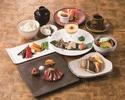 【ランチタイム限定!幸せ祝い膳~梅~】A3ランク黒毛和牛フィレ or ロースが選べる・魚料理他全8品