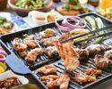 夏だ!豪快!肉5種盛り!エスニックプレミアムBBQセット【料理のみ】