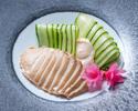事前決済【花梨】テイクアウト オーストラリア産 薄切り鮑の冷菜 5,500円