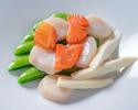 Advanced Purchase [Karin] Takeout Sautéed scallops and seasonal vegetables 4,800 yen