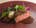 (ディナーA)千葉県産かずさ和牛ロース・フィレ肉ローストの食べ比べ