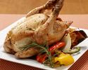 テイクアウト さくら鶏 ローストチキン(ハーフ)前日までの予約制