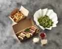 【テイクアウト】オーストラリア産サーロインステーキサンドイッチ