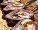 格之進新名物!今大注目の『牡蠣肉』&新領域の味わい『六本木うなハン』を愉しめるお得なジェレミーコース!!