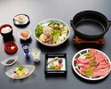 牛すき焼き 「ダブル」 【お昼11時~14時30分】
