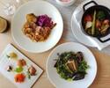 Lunch course 【休日限定】メイディッシュとデザートが選べるスペシャルランチコース 全4皿