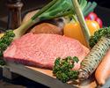 [時差套餐]鵝肝+ A5最佳神戶牛肉套餐