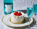 ◆大人/平日【ランチブッフェ】幸せの青い泡で乾杯+ホールケーキ+思い出のバラ!海と大地の恵み×北海道食材を堪能.