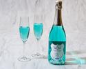 ◆大人/土日【ディナーブッフェ】アニバーサリープレート+幸せの青い泡で乾杯!海と大地の恵み×北海道食材を堪能.