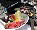 土日BBQ【肉×野菜】目の前には海が広がるバーベキュー!【ライトプラン】手軽に手ぶらでBBQ!