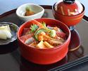 Sushiman's Seafood Chirashi-sushi
