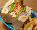 【本日のおすすめデザート付】 選べるサンドウィッチ