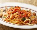 【テイクアウト】魚介のパスタ ペスカトーレ トマトソース