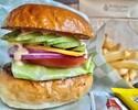 【Vegetable Burger】ベジタブルバーガー
