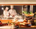 【Lunch】開業1周年記念ランチ 前菜、メイン、デザート+サラダバー全4品