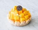 【Take Out】 Mango Tart 12cm