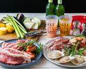 6月~平日BBQ【肉×オマール海老やホタテなどの海鮮×野菜】オーシャンビューバーベキュー!【スタンダードプラン】