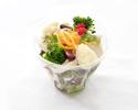 鶏胸肉と生ハムのサラダ