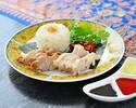 【テイクアウト】2種のチキンの海南鶏飯