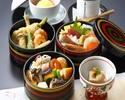 【加賀小町】個室確約!さらに乾杯ドリンク付き!名物「治部椀」とちらし寿司や天ぷらを三段重で味わう(※平日限定)