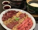 タレ焼肉と土鍋ご飯のコース