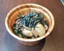 テイクアウト牡蠣のうま辛丼
