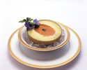 クラウンメロンと渡り蟹のビスクスープディナー
