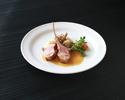 【テイクアウト】仔牛のロティとスネ肉のラグーポルトブランソースマティニョン添え