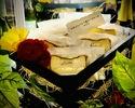【テイクアウト専用】 名物:バスク風チーズケーキ(バラ売り1カット ¥275-)