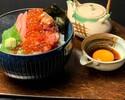 【平日限定ランチ】 海鮮丼 ¥1,300(税サ込)7月1日~販売開始