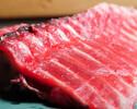 Tuna course 8 dishes 3480 yen