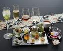【日本料理×ノンアルコールペアリング4種】 一期一会 〈テーブル席〉