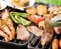 【金土日祝限定】ビアガーデンプラン(90分)+料理2品プラン