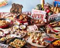 【お盆期間】ランチ!オープンキッチンからの出来立て料理が大人気!3,914円(サービス料別)8月7日~16日