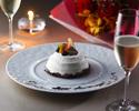 デザートに追加:フルーツショコラケーキ (2名様向け 直径8cm) 2,800円