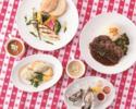 【WEEKDAY LUNCH】お魚orお肉 メイン料理選択可!+生牡蠣+スパークリングワイン(平日限定)