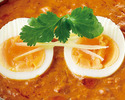 [Curry separately] Keema egg curry