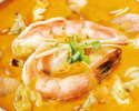 [Curry separately] Mix seafood curry