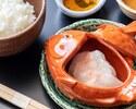 【13:00以降限定】旬の前菜と主菜で愉しむランチ≪鯛茶漬けプラン≫