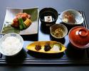 【期間限定ご夕食プラン】旬の小鉢とお造り・魚料理の主菜で愉しむご夕食(ゆうなみ) 2500円