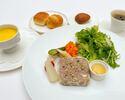 Petit déjeuner menu 朝食メニューC パテ・ド・カンパーニュ