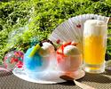 かき氷フェア  デザートグラス型(3種)