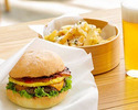 [Lunch] Choose from 5 types of Burger set
